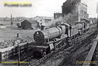"6803 ""Bucklebury Grange"", Crewe Gresty Lane, 1949"