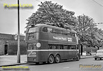 LT Trolleybus No. 1514, Hampton Court, 6th May 1962