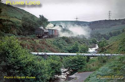 NCB 0-6-0ST, Graig Merthyr Passenger, August 1969
