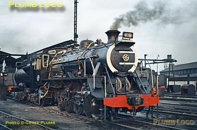 SAR No. 3781, Germiston, 19th August 1972