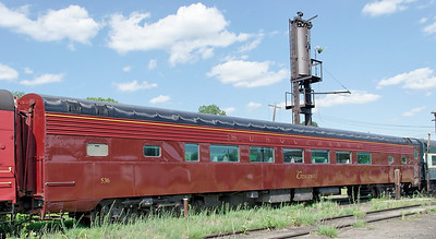 "NYS&W Coach 536 ""The Crescent at Port Jervis."" Now owned by NY&GL."
