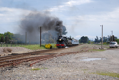 Storming through Carterton (between Featherston and Masterton)
