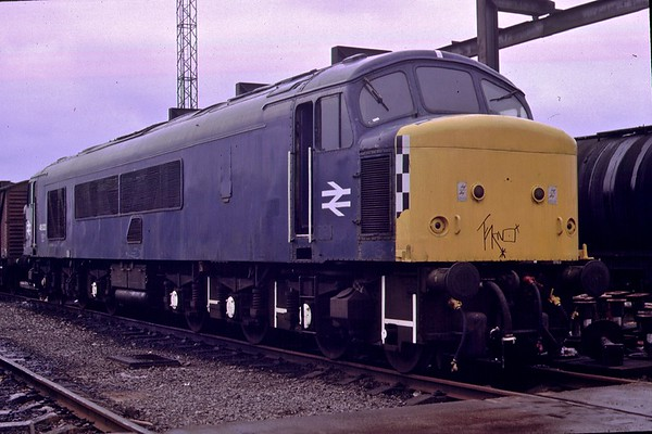 46023 Toton.<br /> 23rd March 1985.