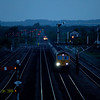 Freightliner 66614 with coal train in Barnetby.