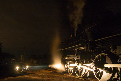 Night at the Railway Museum
