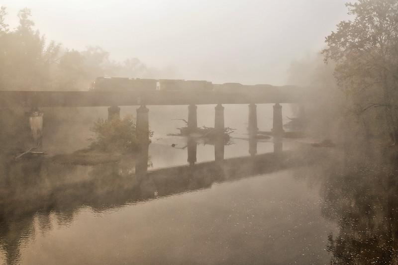 Morning Fog on the Greenbrier