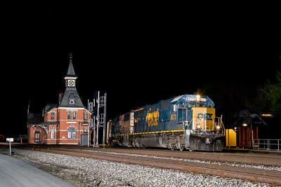 Railroading at Night