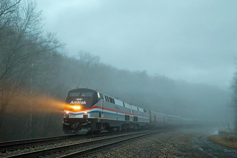 Blue Hour Fog at Hilldale
