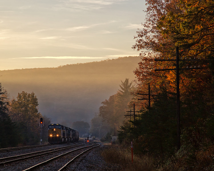 Fall on the old C&O