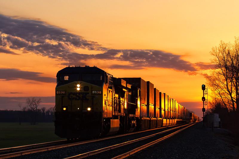 Sunset in NWO