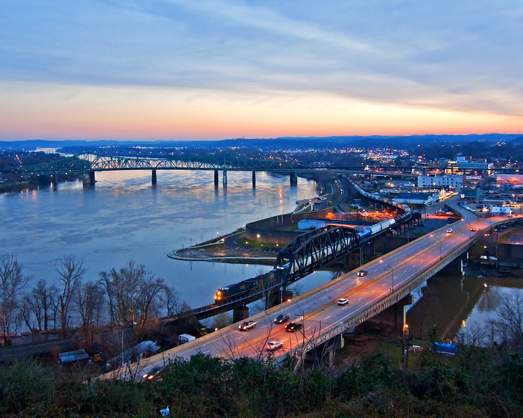 Dawn at Parkersburg