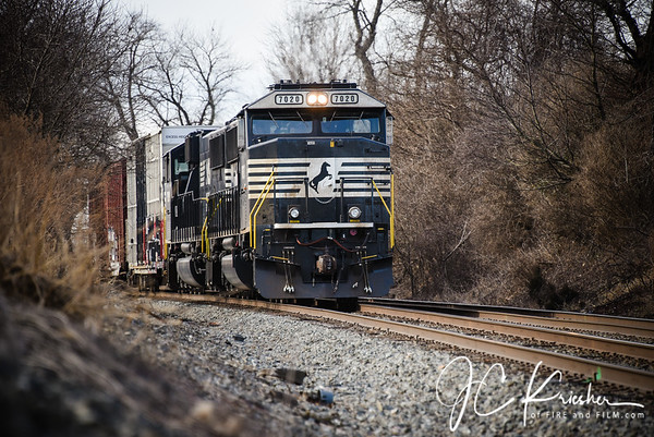 Norfolk Southern - Reading Line - 01/17/2019