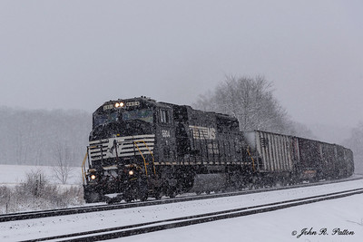 Norfolk Southern locomotive NS 6804, train NS 591