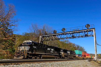 Norfolk Southern NS 7636