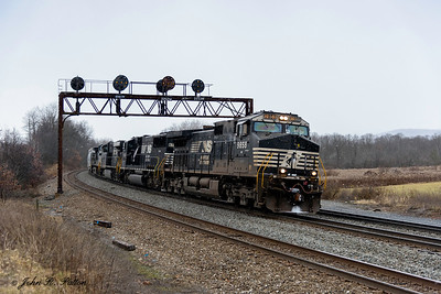 Norfolk Southern NS 9858
