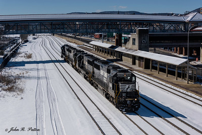 Norfolk Southern helper units