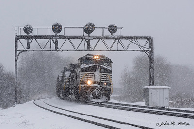 Norfolk Southern locomotive NS 9444, train NS 590