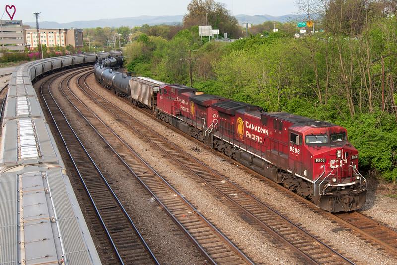 Entering South Yard A1<br /> Roanoke, VA<br /> <br /> 4/14/21