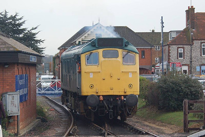 Another view of 25057 at Sheringham.