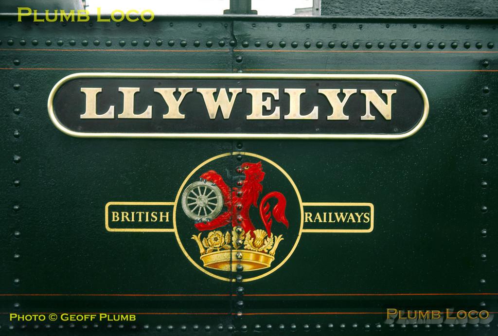 """Vale of Rheidol Railway No.8 """"Llywelyn"""", Aberystwyth, 30th August 1963"""