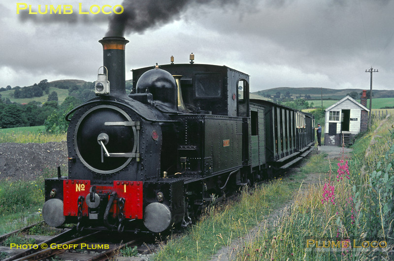 W&LLR No. 1, Castle Caereinion, 25th July 1964