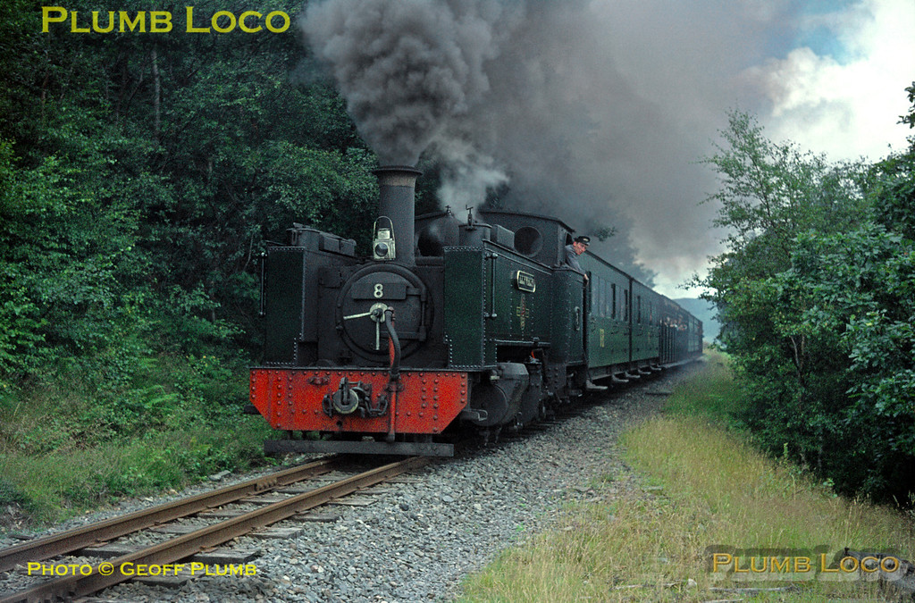 """Llywelyn"", Rhiwfron Halt, 28th July 1964"