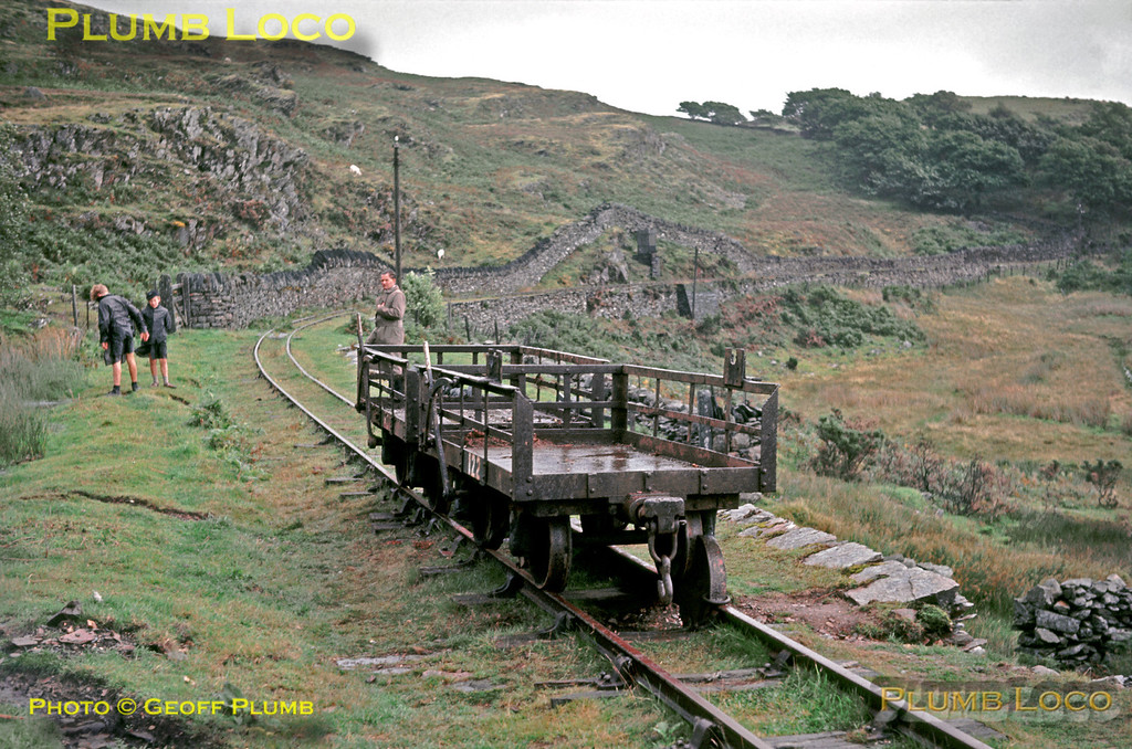 Ffestiniog Railway, Campbell's Curve (or Tank Curve, Dduallt Manor), 26th August 1963