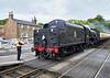 NYMR Grosmont Station - Steam Loco 80072 - 22 June 2011