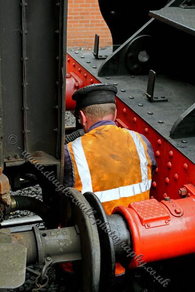 Uncoupling Locomotive
