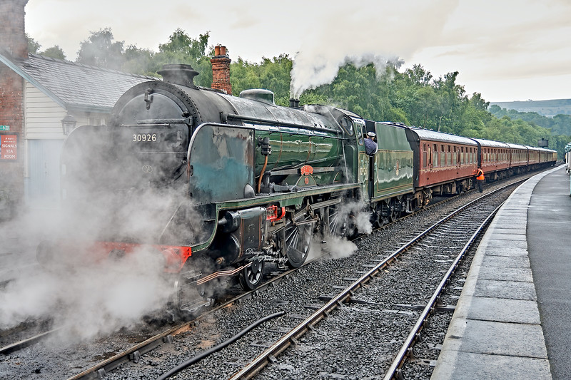 Repton (30926) at Grosmont Station - 23 June 2007