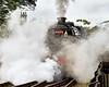 NYMR Grosmont Station - 45212 Steam Loco - 22 June 2011