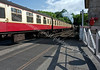 Pickering Train Leaves Grosmont
