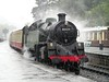 80135 on a Wet Day at Grosmont Station