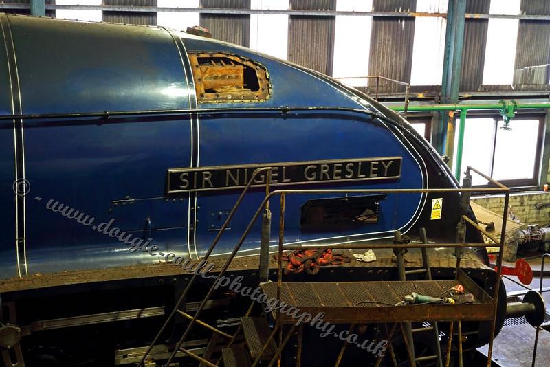 Sir Nigel Gresley - Under Repair