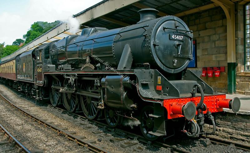 Lancashire Fusilier - 45407 - Pickering Station