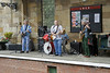 60's Theme Band at Pickering Station