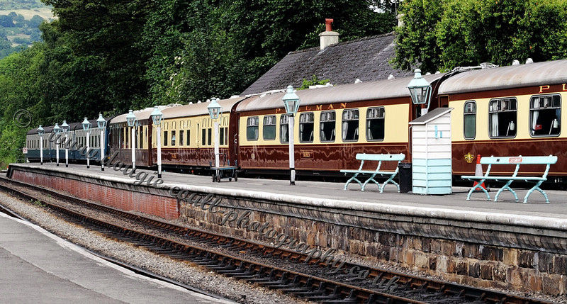 Carriages - Grosmont Station