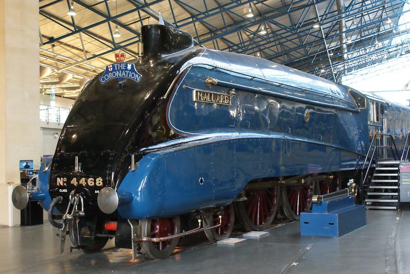 Mallard at York Railway Museum