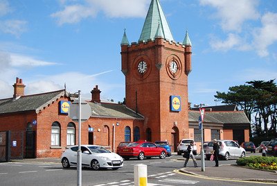 Newcastle, Co.Down - the old station