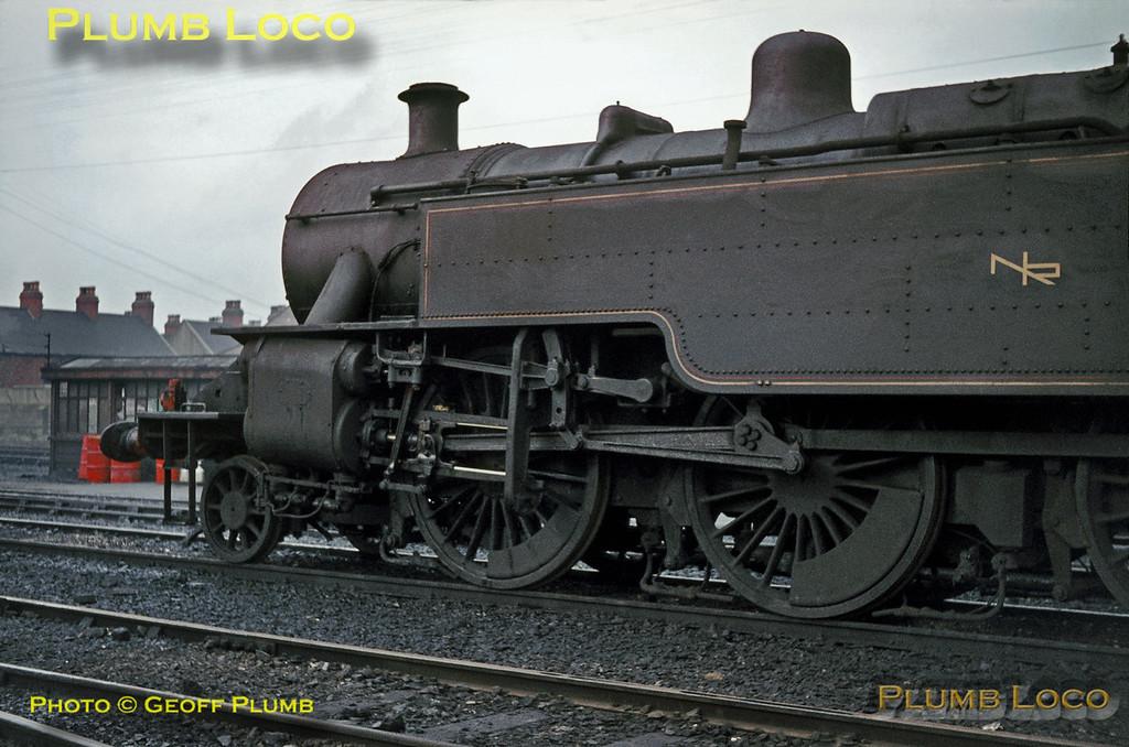 Northern Ireland Railways Class WT, Belfast York Road MPD, September 1968