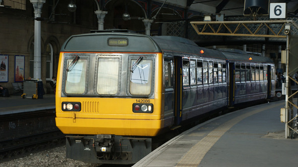 Northern Rail Pacers Class 142/144