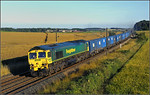 York Yard South-Oxwellmains loaded binliner at Whinny Hill.