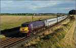 2014 08 30. 91101on the1430 Kings Cross-Edinburgh ECML.service at Whinny Hill.