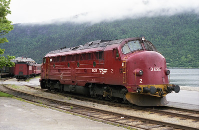 3.628 is stabled at Åndalsnes on 9/6/95.