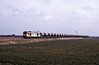 May 13th 1996 and the first of two 60 hauled train across the fens, this is the MWF Bishops Stortford to Croft, passing Turves.