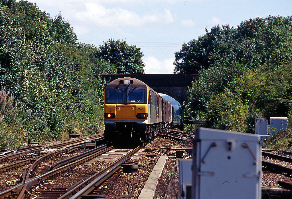 On 5th August 92020 approaching Lenham on a rather lightweight 6B32 13:45 Connectrail service from Dollands Moor to Wembley