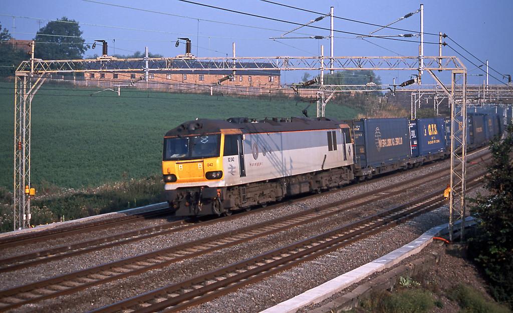 92042 Honegger on the Bari train (4O33)