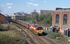 The scrap was followed by 66051 on the 6O45 Ripple Lane to Dollands Moor which I think was an empty Celsa paper working