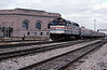 Day 9 Sunday and having arrived in Chicago, on time as I recall, I caught the Rock Island out to Joliet. The Ann Rutledge to St Louis makes its 11:45 stop.