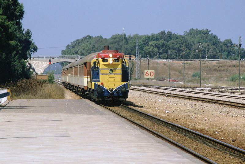 121 arriving in Netanya from Haifa